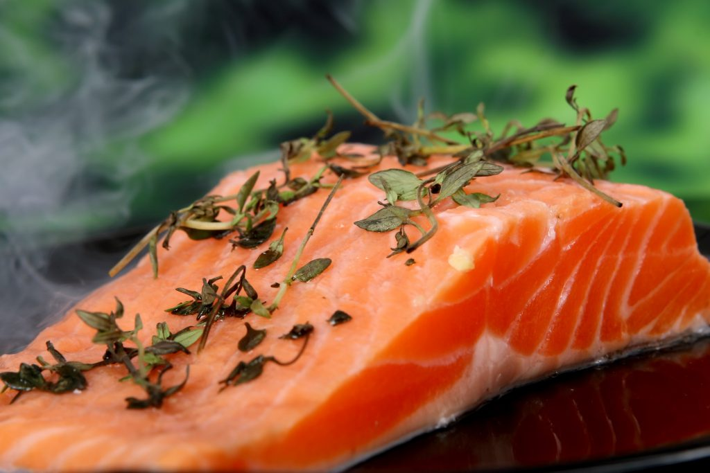 healthy salmon diet