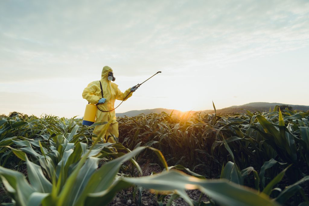 herbicides on your food